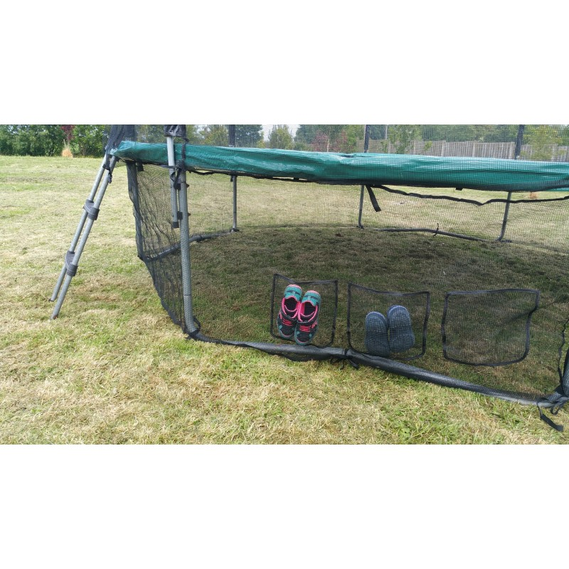 12 Foot Trampoline Safety Skirt Net With Integrated Shoes