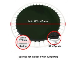 14 ft Jump Mat for 7 inch springs (80 eyelets)