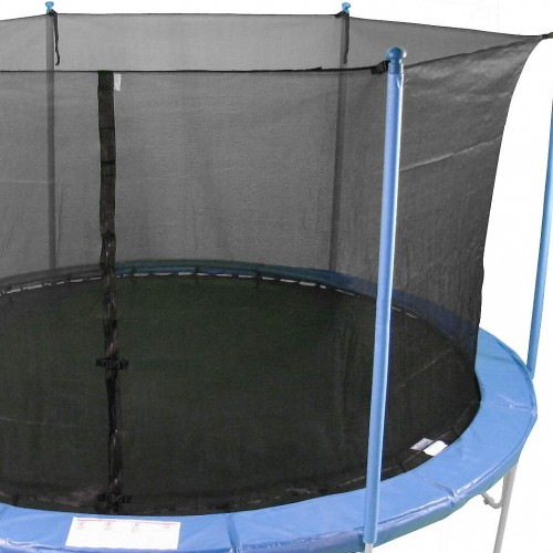 15 Ft Trampoline Netting (inside type for 6 straight poles)