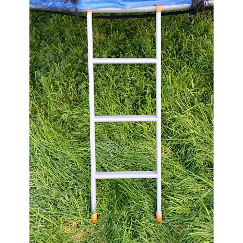 Trampoline Ladder 3 Steps Grey