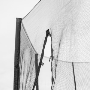 6 ft Trampoline Netting (outside type for 6 straight poles)