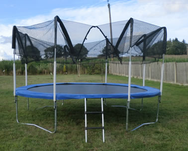 Fitting  Replacment Trampoline Netting